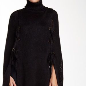 Betsy Johnson Turtleneck Poncho